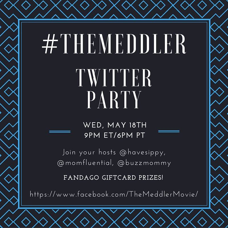 We are excited to host #TheMeddler Twitter Party tonight at 9 pm ET. Susan Sarandon, Rose Byrne, Casey Wilson, Cecily Strong, Lucy Punch, and Sarah Baker round out the super-female cast of The Meddler, in the theaters now!
