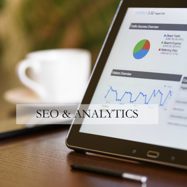 SEO and Analytics - Find out exactly where your customers are coming from and how to get the right people to your website.