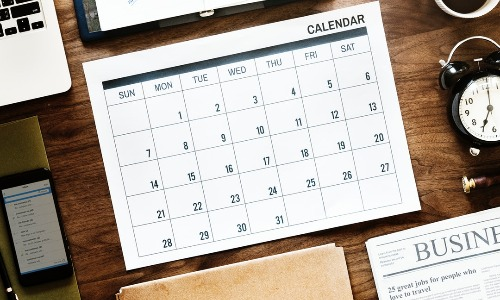 Create a year-long social media content calendar to save time, eliminate stress, and enhance your social media marketing strategy.